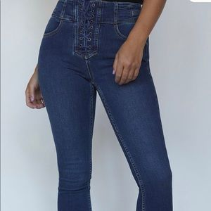 Freepeople high waisted capris